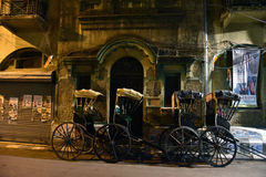 Rikscha in Kolkata Lizenzfreies Stockfoto