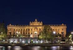 Riksdag,斯德哥尔摩 免版税库存图片