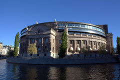 Riksdag building Royalty Free Stock Photos
