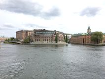 Riksdagen. The Swedish parliament riksdagen Royalty Free Stock Photo