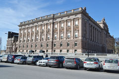 Riksdagen (Swedish Parliament) in Stockholm. Royalty Free Stock Images