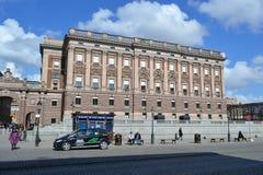 Riksdagen (Swedish Parliament) in Stockholm. Royalty Free Stock Image