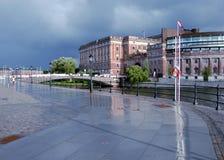 Riksdaghuset (Parlament), Stockholm Lizenzfreies Stockfoto