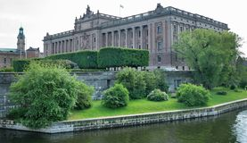 Riksdagshuset. Royalty Free Stock Photo