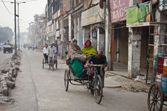 Riksha in india Royalty Free Stock Image