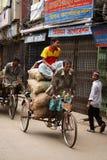 rikshaw езды Стоковое фото RF
