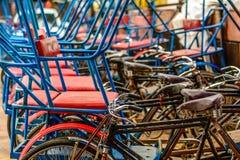 Rikshaw in New Delhi Royalty Free Stock Photos