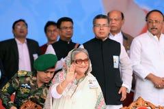 Riksstämma av den Bangladesh Awami ligan Arkivfoto