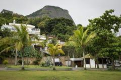 Rikt område i Rio de Janeiro, Brasilien arkivfoto