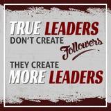 Riktiga ledare stock illustrationer