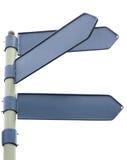 riktningstecken Arkivbild