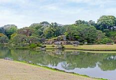 Rikugien Garden of Tokyo Stock Image