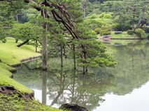 Rikugien Garden, Tokyo, Japan stock images