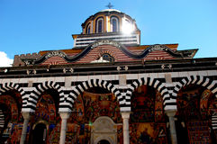 Rila圣约翰修道院  免版税库存图片
