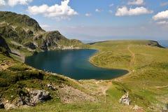 RILA山,保加利亚:七个湖 免版税图库摄影