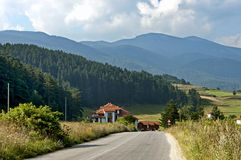 Rila山,保加利亚 免版税库存图片