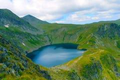 Rila的一个湖 库存图片