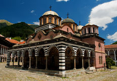rila μοναστηριών της Βουλγα&r Στοκ Φωτογραφία
