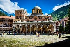 rila μοναστηριών της Βουλγα&r Στοκ Φωτογραφίες