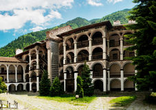 rila скита Болгарии Стоковая Фотография