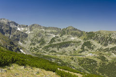 Rila 04. A beautiful landscape from East Rila mountain in Bulgaria Stock Images
