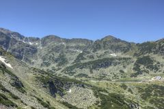 Rila 10. A beautiful landscape from East Rila mountain in Bulgaria Royalty Free Stock Photography
