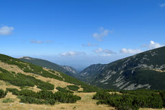 Rila berg Arkivbilder