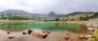 Rila berg - Bulgarien Musala Arkivbilder