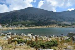 Rila bergsjö Royaltyfri Bild
