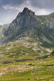 Rila góra blisko Siedem Rila jezior Fotografia Royalty Free