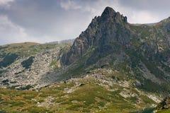 Rila góra blisko Siedem Rila jezior Obrazy Stock