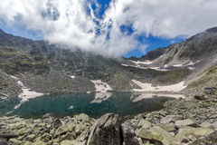Rila góra, Ledenoto jezioro (Lodowy) Fotografia Royalty Free