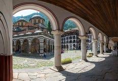 Rila Kloster Stockfotografie