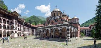 Rila Kloster Stockfotos