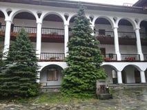 Rila Kloster Bulgarien stockfotografie