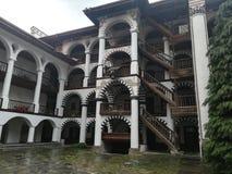 Rila Kloster Bulgarien stockbilder