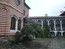 Rila Kloster Bulgarien lizenzfreies stockbild