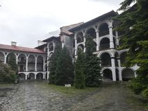 Rila Kloster Bulgarien lizenzfreies stockfoto