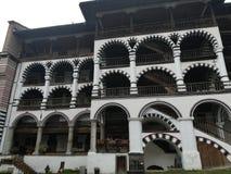 Rila Kloster Bulgarien lizenzfreie stockbilder