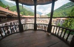 Rila-Kloster in Bulgarien Lizenzfreie Stockbilder