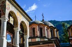 Rila-Kloster, Bulgarien Stockbilder