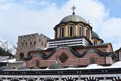 Rila Kloster, Bulgarien lizenzfreies stockbild