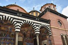 Rila Kloster, Bulgarien stockfoto
