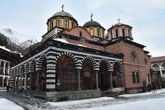 Rila Kloster, Bulgarien lizenzfreie stockbilder