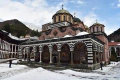 Rila Kloster, Bulgarien stockfotos