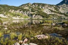 Rila lakes. Lake located in Rila mountains (Bulgaria Stock Image