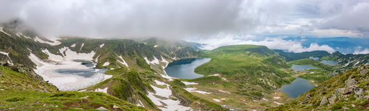 Rila lakes Stock Images