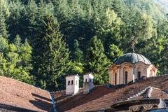 Rila Monastary Rooftop Stock Photo