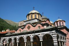 Rila monastery Royalty Free Stock Images