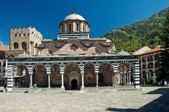Rila monastery. Famous monastery in Bulgaria Stock Photos